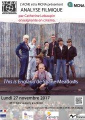 Lire la suite: Projection-anlyse du 27 novembre 2017 : This is England