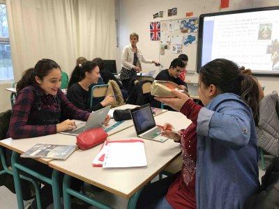 Lire la suite: Projet CARDIE anglais / cinéma au collège des Loges